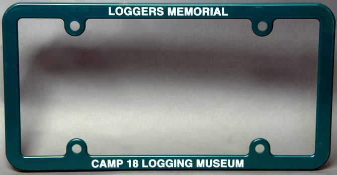 Camp 18 License Plate Frames