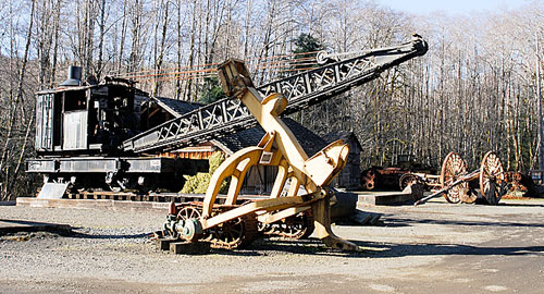 Crane Arch on Display at The Camp 18 Logging Museum in Elsie Oregon