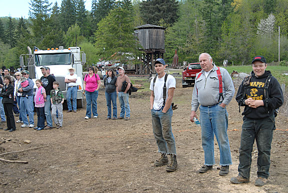 Camp 18 Logging Competition